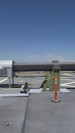 Hypersonic Railgun, Electromagnetic Railgun, U.S. Navy (vertical)