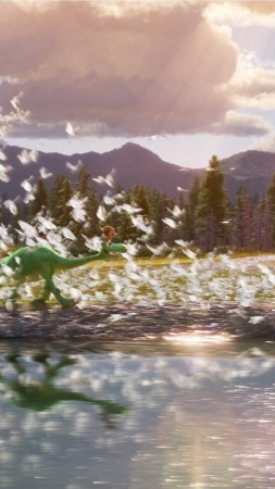 The Good Dinosaur, dinosaur, Brachiosaurus, Pixar (vertical)