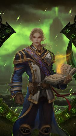 World of Warcraft: Legion, MMORPG, Best Game, fantasy, PC (vertical)