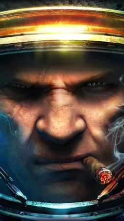 Starcraft 2: Wings of Liberty, Best Game, sci-fi, PC (vertical)