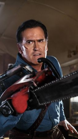 Ash vs Evil Dead, Best TV series, Bruce Campbell (vertical)
