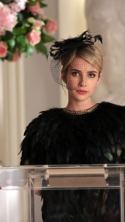 Scream Queens, Best TV series, Emma Roberts (vertical)