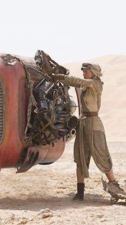 Star Wars: Episode VII - The Force Awakens, Daisy Ridley (vertical)