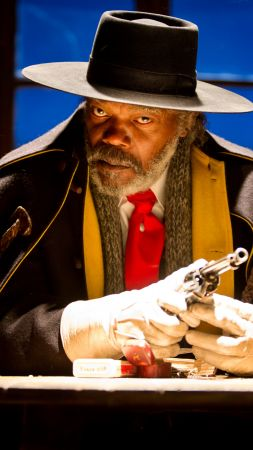 The Hateful Eight, Samuel L. Jackson, Best Movies, western (vertical)