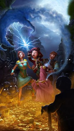 Book of Unwritten Tales 2, Best Games, quest, fairy tale, game, PC, PS4, Xbox One (vertical)