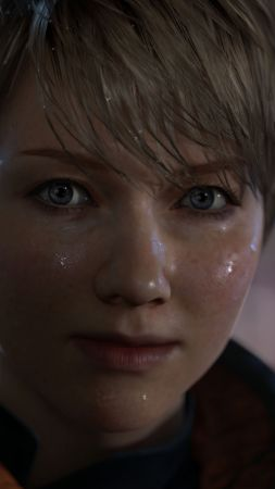 Detroit: Become Human, Best Games, quest, sci-fi, game, PS4, screenshot (vertical)