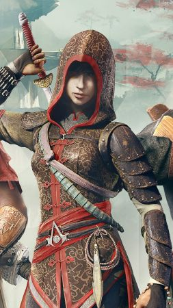 Assassin's Creed Chronicles Trilogy, Best Games, game, arcade, sci-fi, China, PC, PS4, Xbox One (vertical)