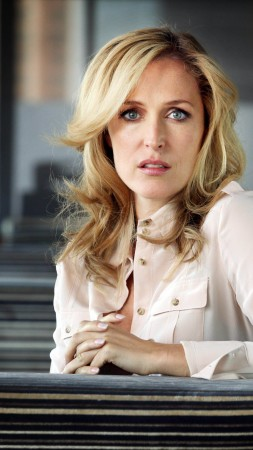 Gillian Anderson, Most Popular Celebs, actress, model (vertical)