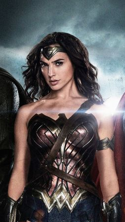 Batman v Superman: Dawn of Justice, Henry Cavill, Ben Affleck, Gal Gadot, Best Movies, movie (vertical)