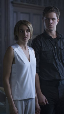 The Divergent Series: Allegiant, Shailene Woodley, Ansel Elgort, Best movies, movie (vertical)