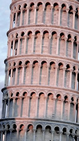 Tower of Pisa, Pisa, Italy, travel, tourism, Leaning Tower of Pisa (vertical)