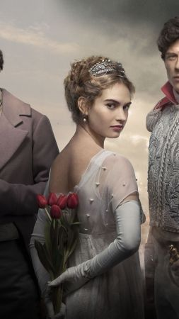 War & Peace, Lily James, Paul Dano, James Norton, Best TV series (vertical)