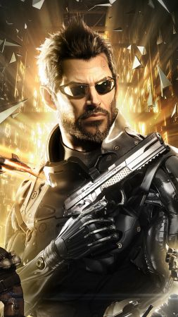 Deus Ex: Mankind Divided, Best Games 2015, game, cyberpunk, sci-fi, PC, Xbox one, PS4 (vertical)