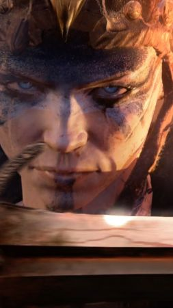 Hellblade, Best games, fantasy, PC, PS4, game (vertical)