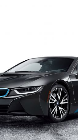 BMW i8, CES 2016, Hybrid, black (vertical)