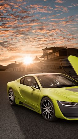 Rinspeed Etos, CES 2016, Electric Car, yellow