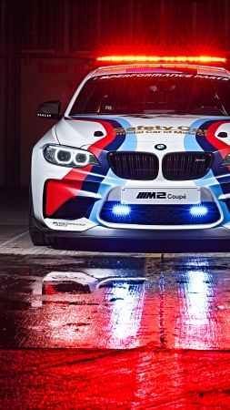 BMW M2 Coupé MotoGP, Safety Car, sport car (vertical)