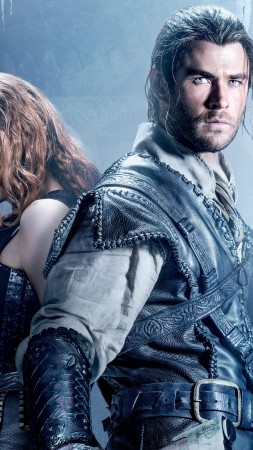 The Huntsman Winter's War, Jessica Chastain, Chris Hemsworth, Best Movies (vertical)