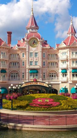Disneyland Hotel, Paris, France, Europe, Best Hotels, travel, tourism, booking (vertical)