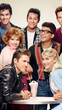 Grease Live!, Julianne Hough, Aaron Tveit, Best TV series (vertical)
