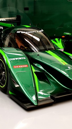Drayson Racing B12/69, Quickest Electric Cars, sport cars, electric cars, green (vertical)