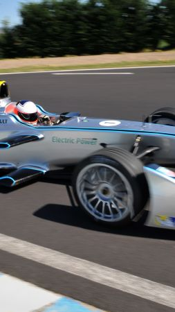 Spark Renault SRT 01E, formula e, Quickest Electric Cars, sport cars, electric cars (vertical)