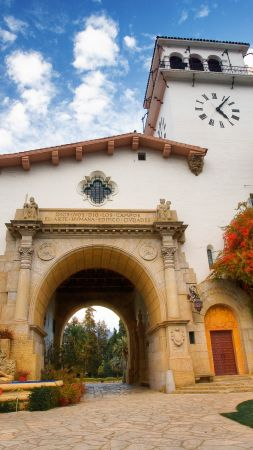 County Courthouse, Santa Barbara, California, USA, travel, tourism, booking