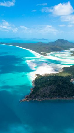 Whitehaven Beach, Whitsunday Island, Best beaches of 2016, Travellers Choice Awards 2016 (vertical)