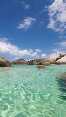 The Baths, Virgin Gorda, British Virgin Islands, Best beaches of 2016, Travellers Choice Awards 2016 (vertical)