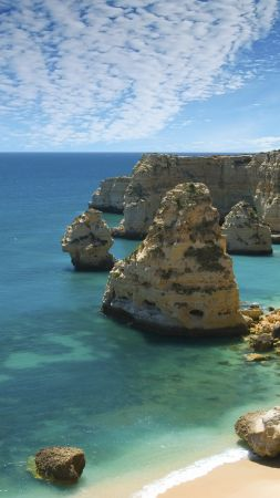 Marinha, Carvoeiro, Portugal, Best beaches of 2016, Travellers Choice Awards 2016 (vertical)