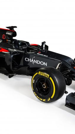 McLaren Honda MP4-31, Formula 1, LIVE from Barcelona, F1 (vertical)
