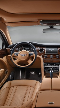 Bentley Mulsanne, Geneva Auto Show 2016, interior (vertical)