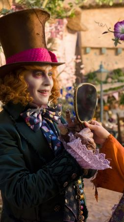 Alice Through the Looking Glass, Johnny Depp, Mia Wasikowska, best movies of 2016 (vertical)