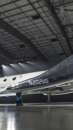 Space ShipTwo, Unity, Virgin Galactic's (vertical)
