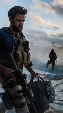 13 Hours: The Secret Soldiers of Benghazi, biographical war, soldier, James Badge Dale, best movies of 2016 (vertical)