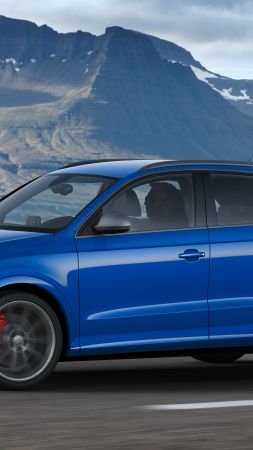 Audi RS Q3 performance (8U), Geneva Auto Show 2016, crossover, blue (vertical)