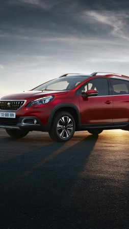 Peugeot 2008 DK, Geneva Auto Show 2016, crossover, red (vertical)