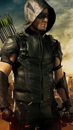 Arrow, Best TV Series of 2016, Stephen Amell, 4 season (vertical)