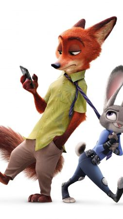 Zootopia, Best Animation Movies of 2016, cartoon (vertical)