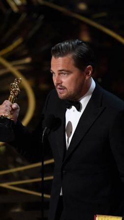 Leonardo DiCaprio, Oscar 2016, Oscar, Most popular celebs, actor (vertical)