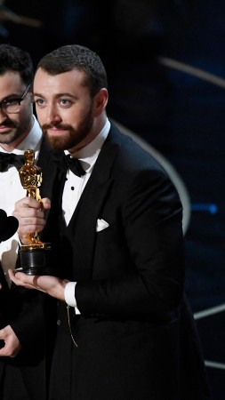 Sam Smith, Oscar 2016, Spectre, Oscar, Most popular celebs, singer (vertical)