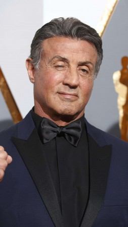 Sylvester Stallone, Jennifer Flavin, Oscar 2016, red carpet, Most popular celebs (vertical)