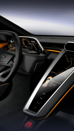 GT Zero, Geneva Auto Show 2016, Shuting break, interior (vertical)