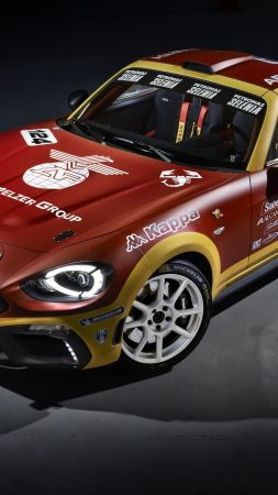 Fiat 124 Spider Abarth, rally edition, Geneva Auto Show 2016, roadster (vertical)
