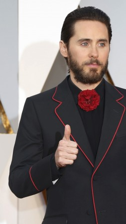 Jared Leto, Oscar 2016, Oscar, Most popular celebs, actor, SINGER (vertical)