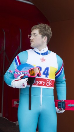 Eddie the Eagle, Taron Egerton, Hugh Jackman, best movies 2016 (vertical)