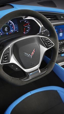 Chevrolet Corvette Grand Sport, Geneva Auto Show 2016, interior (vertical)