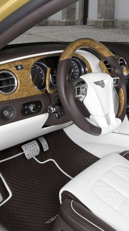 Mansory Bentley Continental, Flying Spur, Geneva Auto Show 2016, interior (vertical)