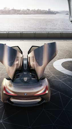 BMW Vision Next 100, future cars, luxury cars (vertical)