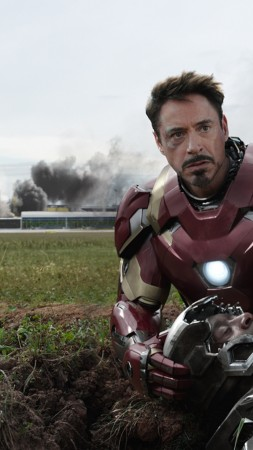 Captain America 3: civil war, Robert Downey, Jr., Don Cheadle, Marvel, best movies of 2016 (vertical)